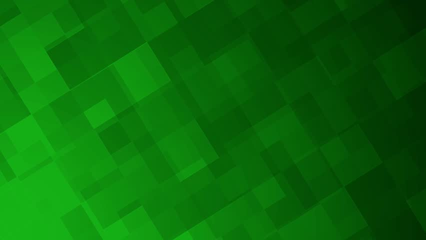 Green geometric squares of various sizes move across the screen, motion background animation.   Shutterstock HD Video #10011269