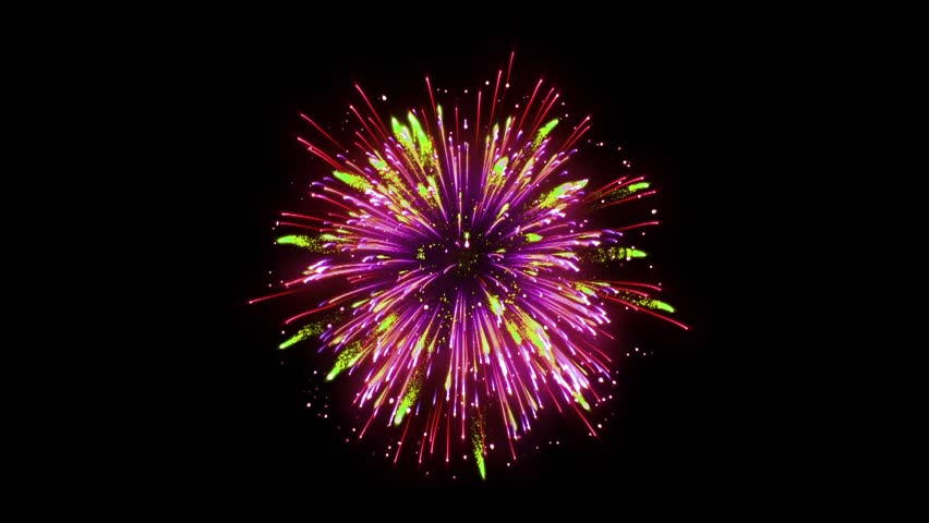Super Firework Colorful, Holliday, Celebration, New Year, The 4th of July, Christmas, Festival | Shutterstock HD Video #1005607189