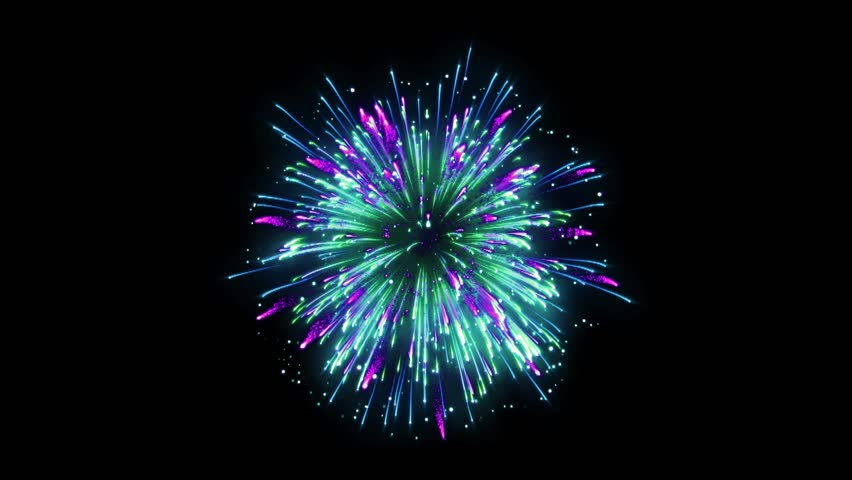 Super Firework Colorful, Holliday, Celebration, New Year, The 4th of July, Christmas, Festival | Shutterstock HD Video #1005607399
