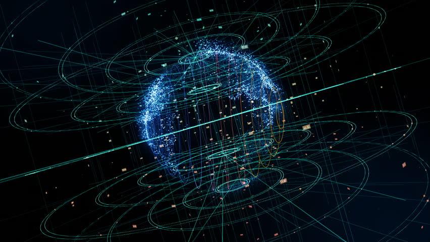 Global communication network concept. | Shutterstock HD Video #1006575319