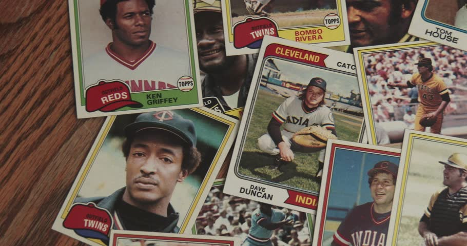 January 17, 2018, Bettendorf, Iowa, Baseball Cards - Vintage - Pan
