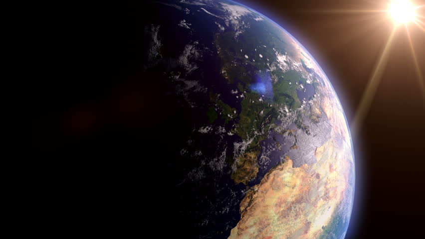Great Britain, UK and Ireland, View From Space | Shutterstock HD Video #1006601689
