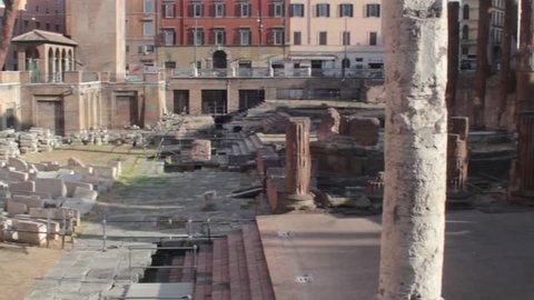 Roman ruins - Rome, Italy