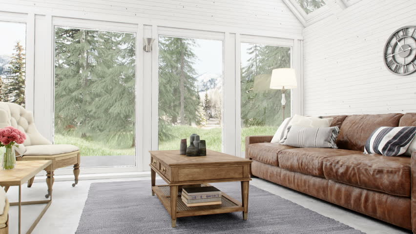 Interieur Chalet Moderne Stock Video Footage - 4K and HD Video Clips ...