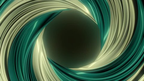 3D colorful animation of a circle or ring. Hypnotic spiral illusion seamless looping. Abstract color wormhole tunnel. Seamless loop. Abstract background with rotation of hypnotic spiral. Animation of