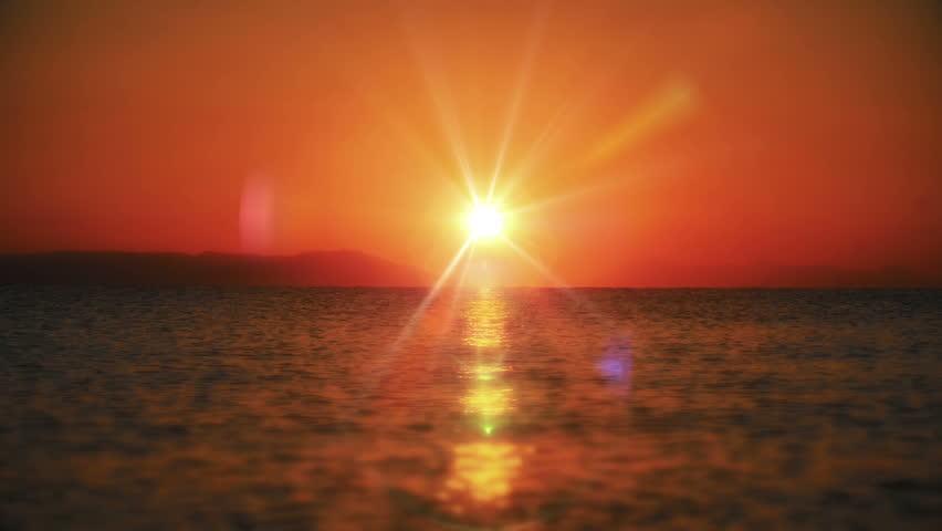 Sunrise wave sea slow motion | Shutterstock HD Video #1007002279