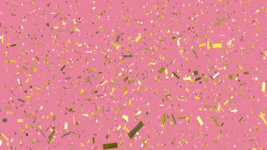 Pink Glitter Background Stock Footage Video