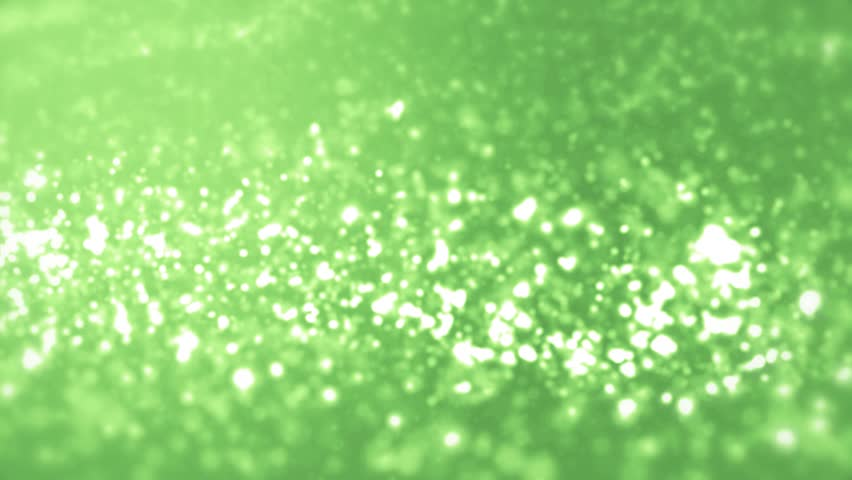Elegant green background abstract with snowflakes. Christmas animated lime background. White glitter - winter theme. Green screen. Seamless loop. | Shutterstock HD Video #1007134549