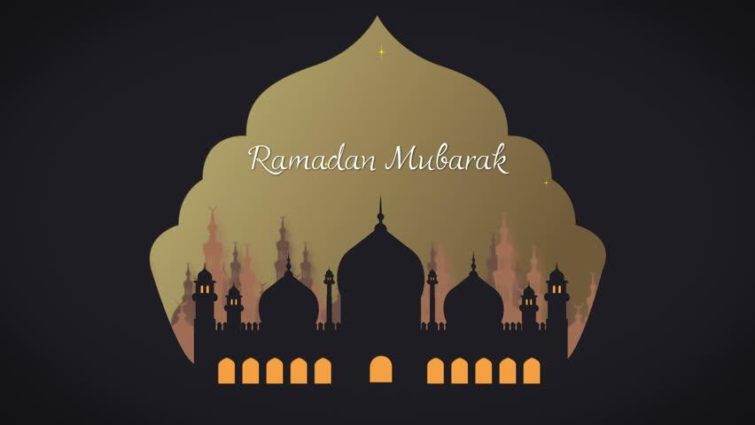 Ramadan greeting during fasting month - Ramadan Mubarak