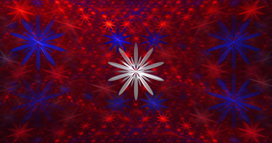 Abstract red, white and blue motion background seamless looping fractal 4K    Shutterstock HD Video #1007711836