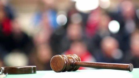 auction bid sale judgment mallet gavel , video hd 1920x1080