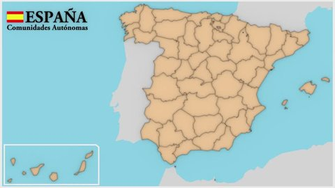 Catalunya Spain Map.Map Catalunya Stock Video Footage 4k And Hd Video Clips Shutterstock