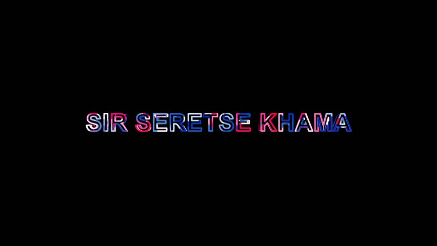 Header of Sir Seretse Khama