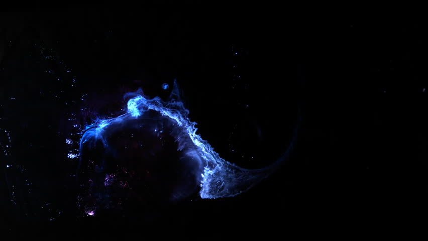 Space Clouds Nebula Texture Background of cosmic galaxy / Fluid Dynamics made of ink and paint in 8K resolution
