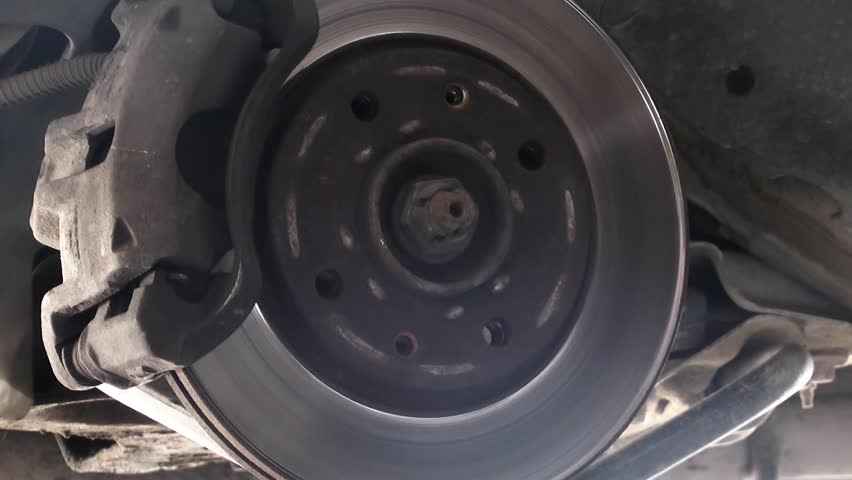 Very Nice Car Brake Disc Disassembly View Video.