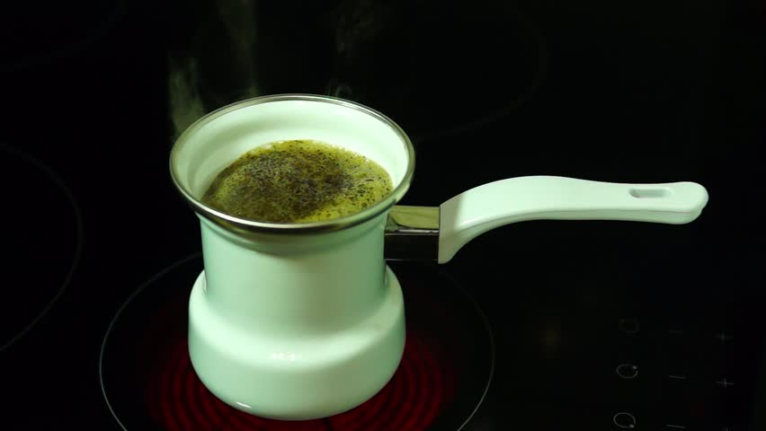 Header of coffeepot