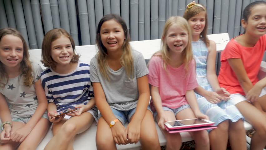 Group of young girls masterbating 9