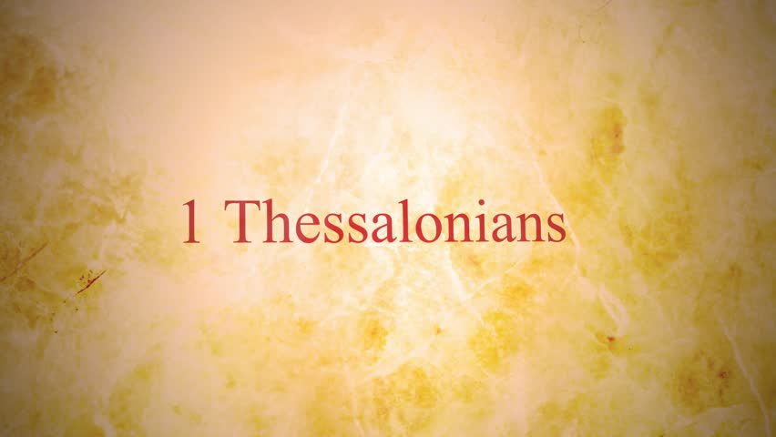 Header of 1 Thessalonians