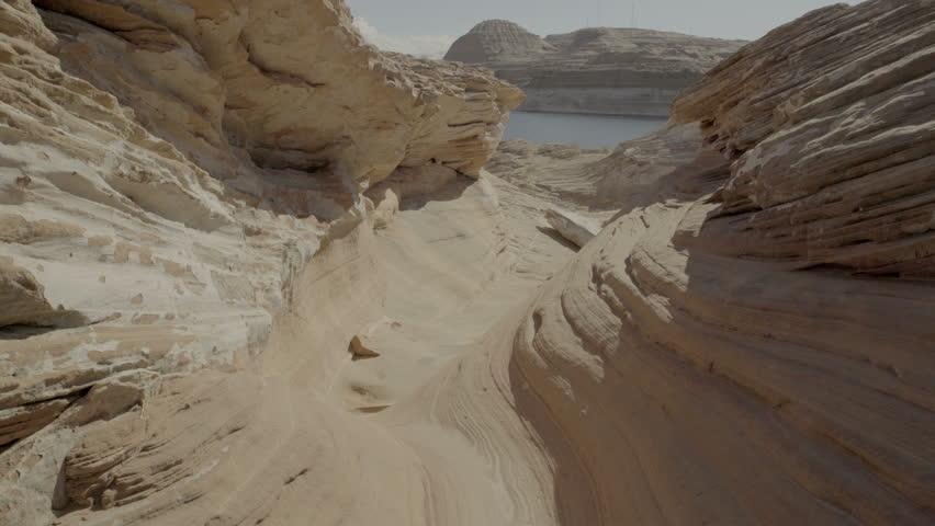 sandstone rock at Lake Powell