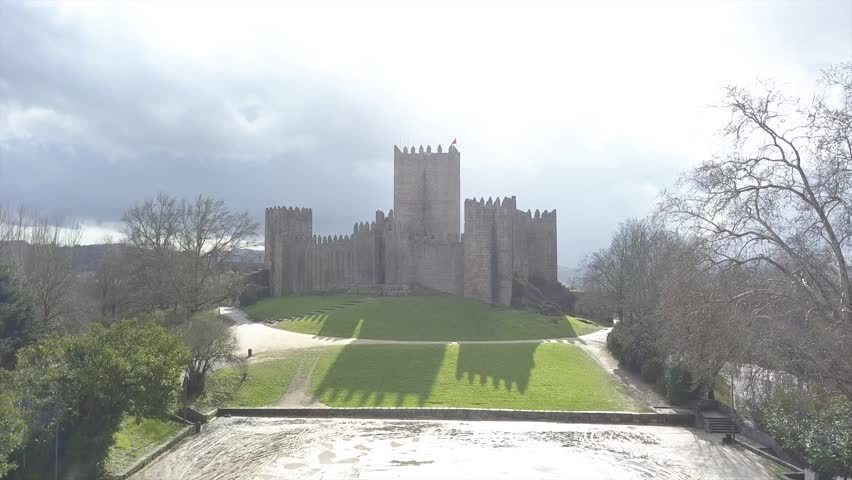The Castle of Guimarães, is the principal medieval castle in the municipality Guimarães, in the northern region of Portugal.