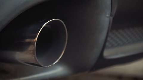 Exhaust Pipe sport car