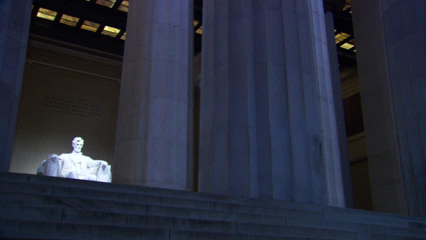 Lincoln Memorial at Night, Washington D.C.