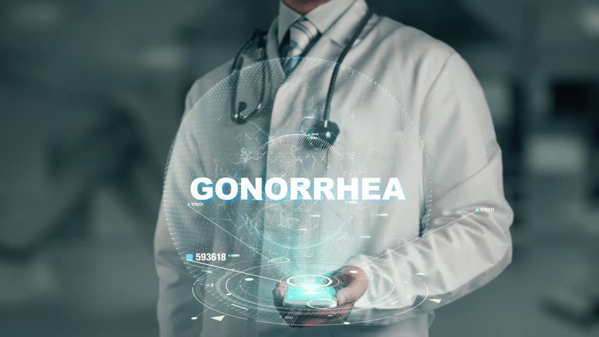 Header of gonorrhea