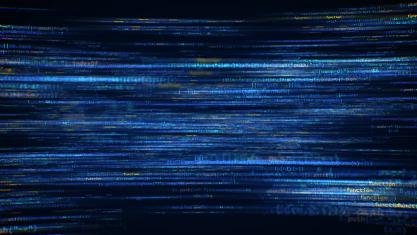 Digital Matrix of Software developer source code loop | Shutterstock HD Video #1008990809