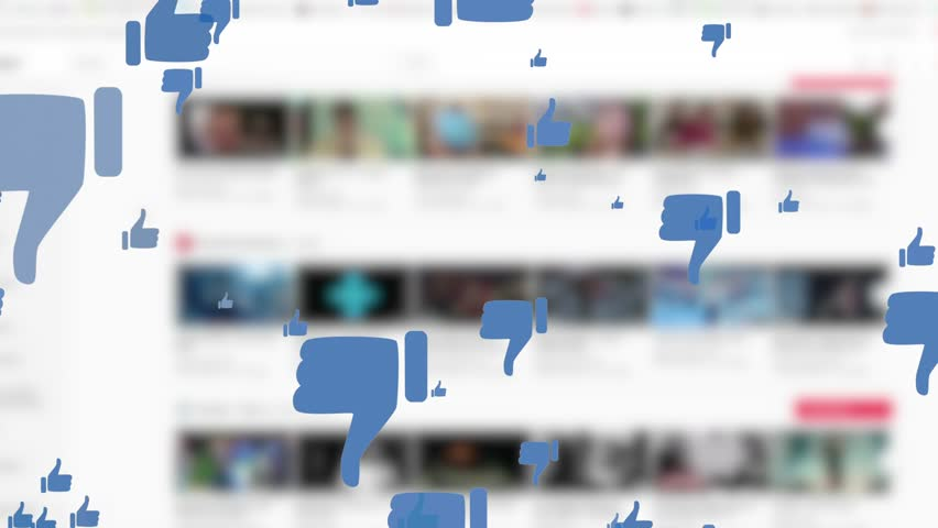 Video Counter Bar Graphic Showing Progess of Views and Likes on Social Media | Shutterstock HD Video #1009031099