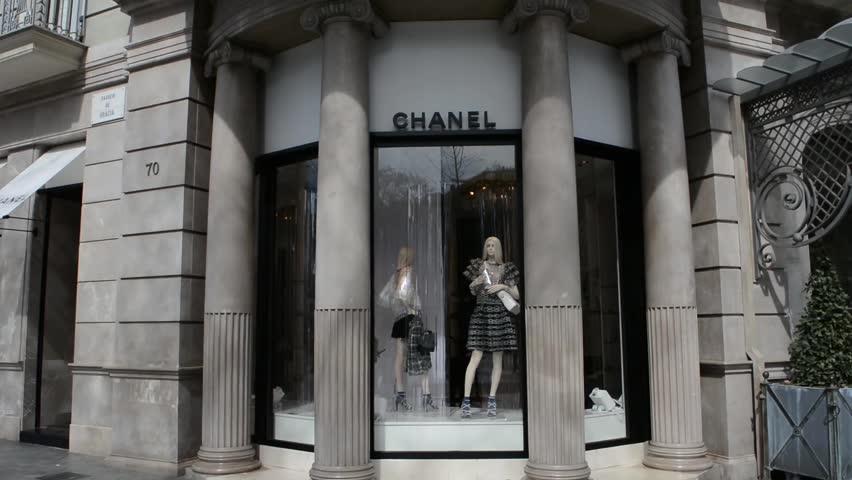 6405630bd BARCELONA, CATALONIA, SPAIN - 2018 March 29: Chanel is a Parisian fashion  house founded at the beginning of the twentieth century by Coco Chanel.