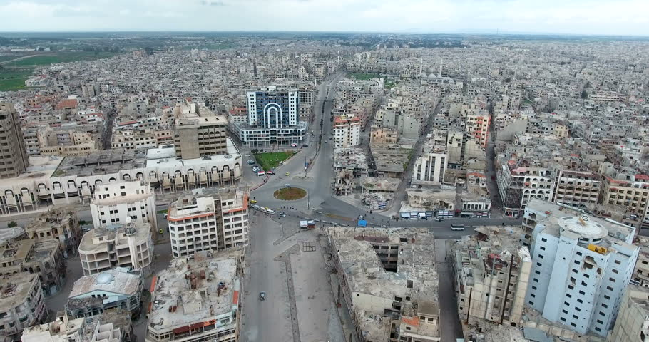 the city of Homs in Syria #1009298699