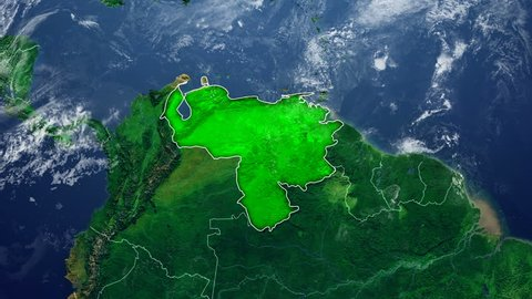 VENEZUELA DIGITAL MAP