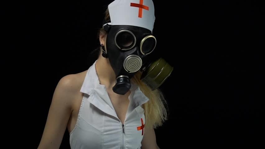 Sexy Nurse Wearing Lingerie 4K Video Stock Footage Video 8822845  Shutterstock-9872
