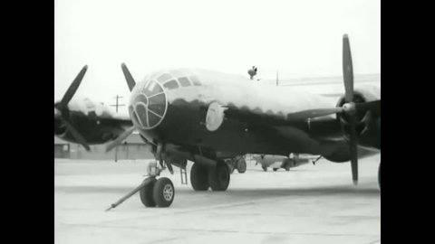 CIRCA 1947 - A Bell XS-1 transonic research airplane is towed and given a preflight check and the controls in the cockpit are inspected.