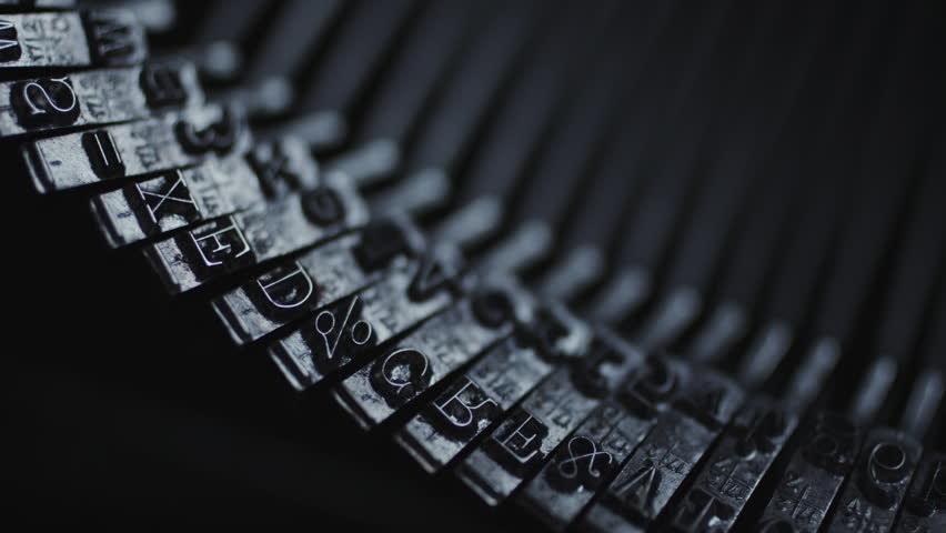Free Typewriter Stock Video Footage Download 4K HD Clips