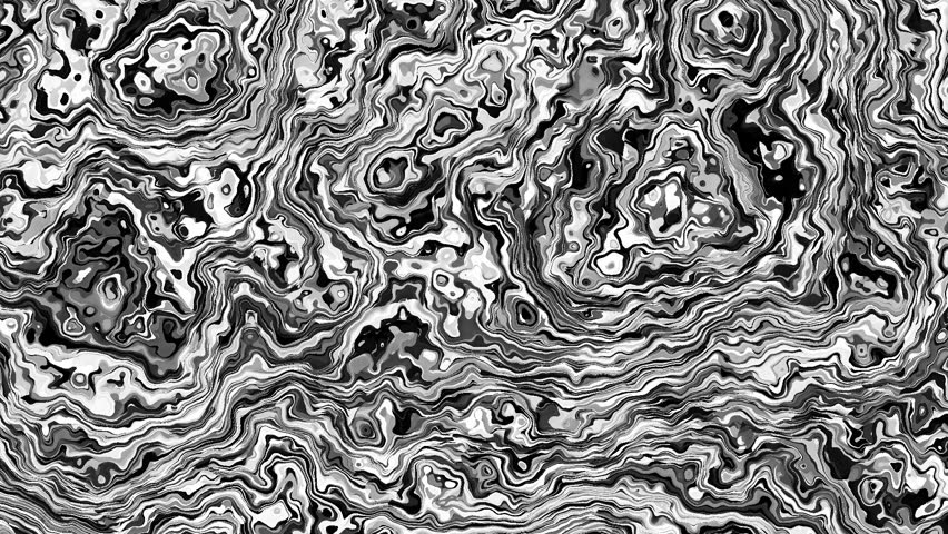 Moving random psychedelic waves. Abstract screensaver for video. Looping footage. | Shutterstock HD Video #1009684949