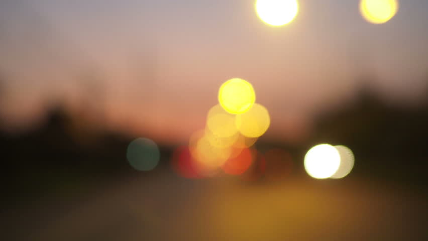 Background Light blur from traffic on the road at night. | Shutterstock HD Video #1009719869