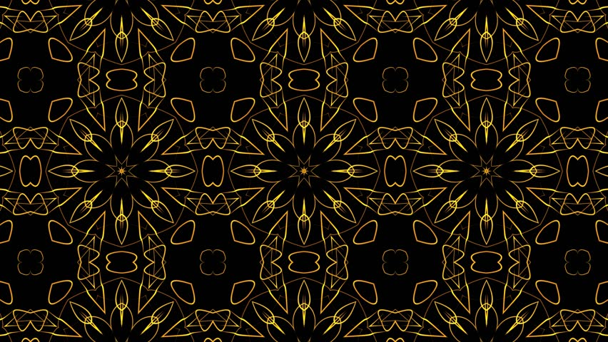 Abstract colorful digital kaleidoscopic loopable motion graphic background. Futuristic loop psychedelic hypnotic backdrop   | Shutterstock HD Video #1009787339