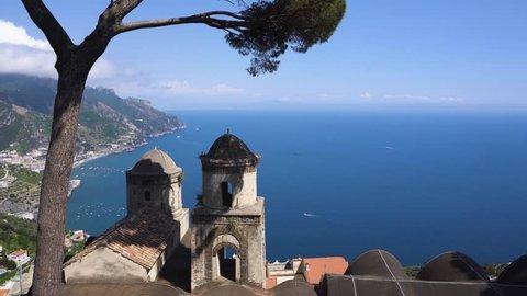 Ravello village, Amalfi coast of Italy