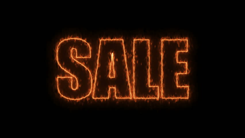 Letters of Sale text on black, 3d render background, computer generating for trading   Shutterstock HD Video #1009997789