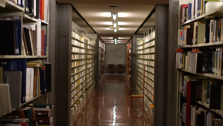 MONTREAL, CANADA - APRIL 2018: Cinematic Views in McGill University of Library Books & Files | Shutterstock HD Video #1010256779