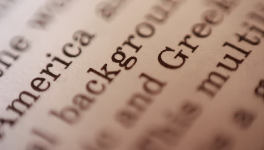 English text extreme close up | Shutterstock HD Video #1010281649