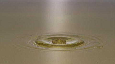 oil drop gold