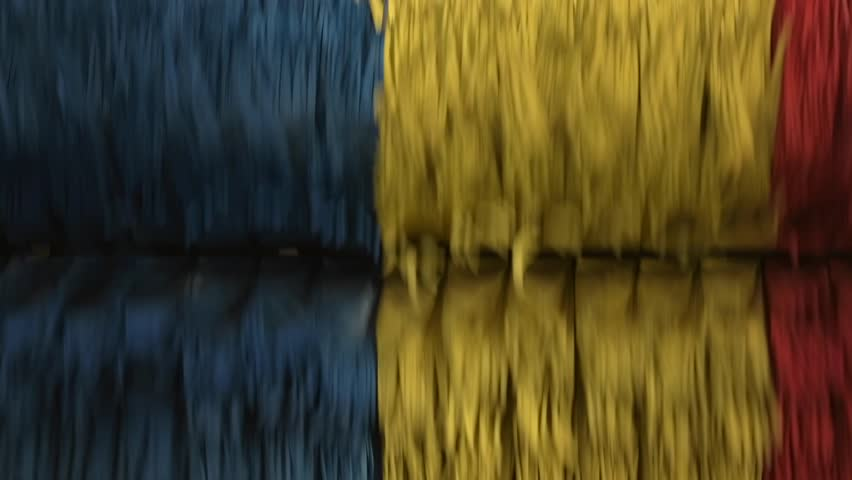 Running Colorful Car Wash Brushes in Slow Motion. | Shutterstock HD Video #1010561489