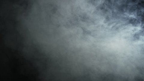 Realistic Smoke / Fog Moving in the Ray of Light with Black Background. Overlay Modes. Shot on RED EPIC-W 8K Helium Cinema Camera.
