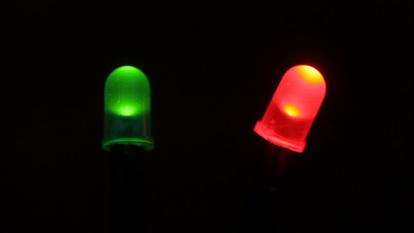 Led Light Diodes from the Front Pannel of the Computer. Green idicates Power Led. Red Blinking idicates HDD Hard Drive Led