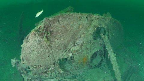 world war one shipwreck underwater