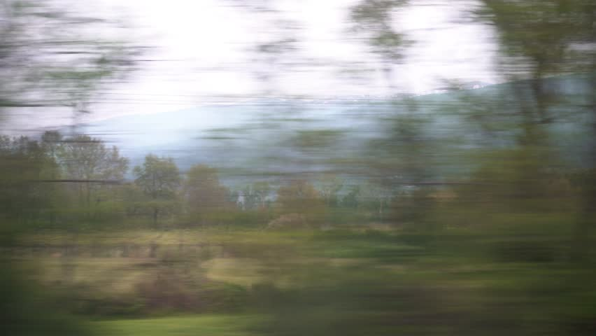 Window View from Train, Car Stock Footage Video (100% Royalty-free)  1010789939 | Shutterstock