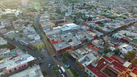 Durango Central Aerial View Drone Footage