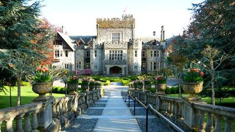 Hatley Castle in Victoria BC Canada